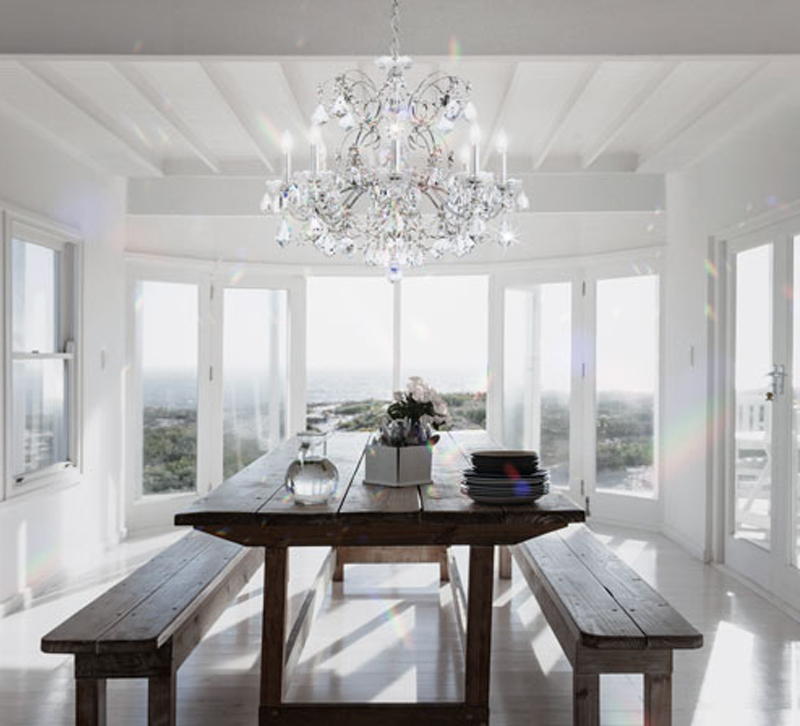 Shine On 4 Tips For Cleaning A Crystal Chandelier