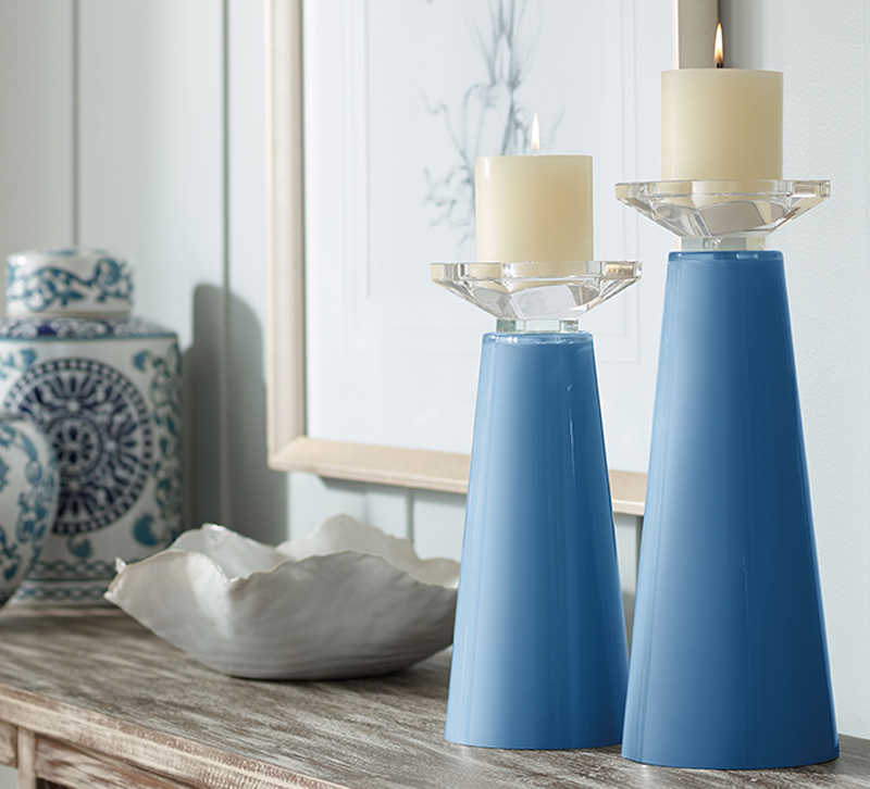 Lamps Plus Color Plus candleholders