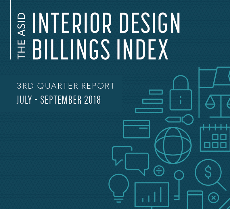 ASID third quarter billing and index report logo