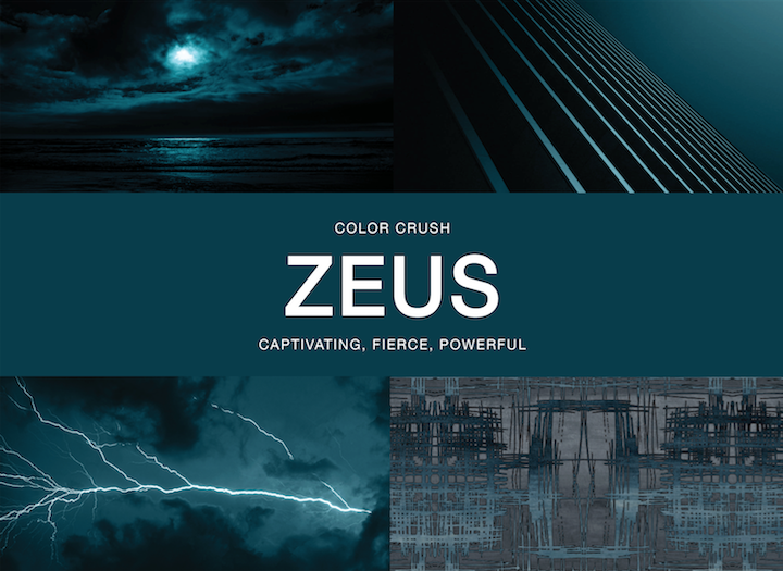 Stacy Garcia's Color Crush: Zeus
