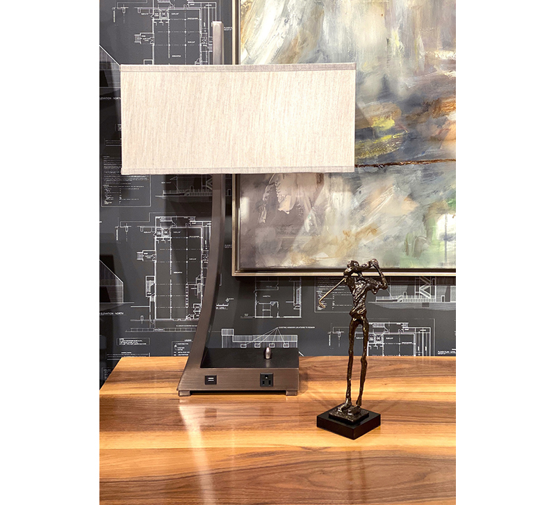 Wildwood Home Jaeger Desk Lamp Work from Home