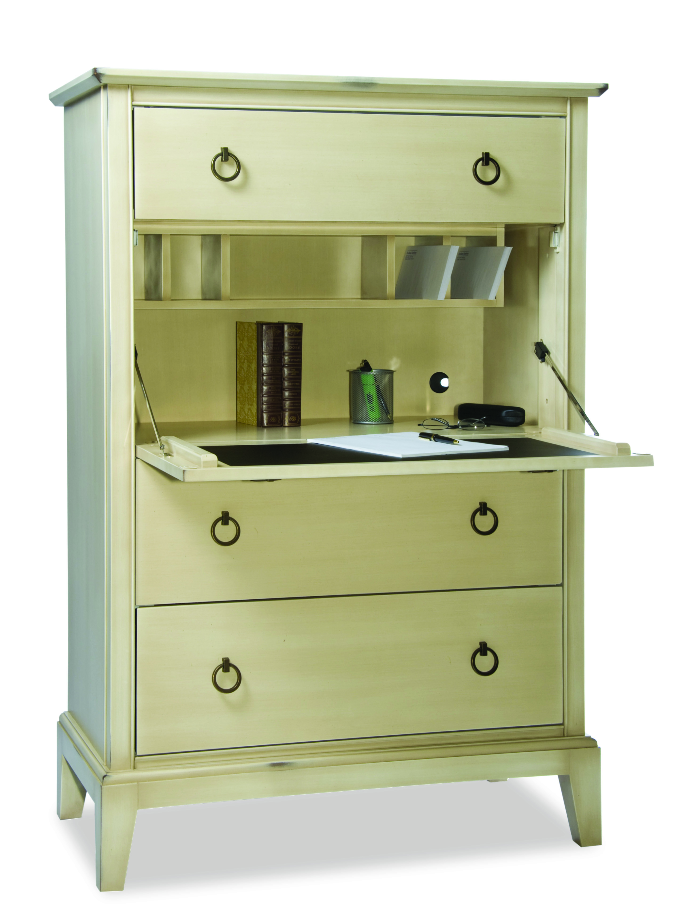 Durham Furniture Solid Accents Collection Secretary Chest
