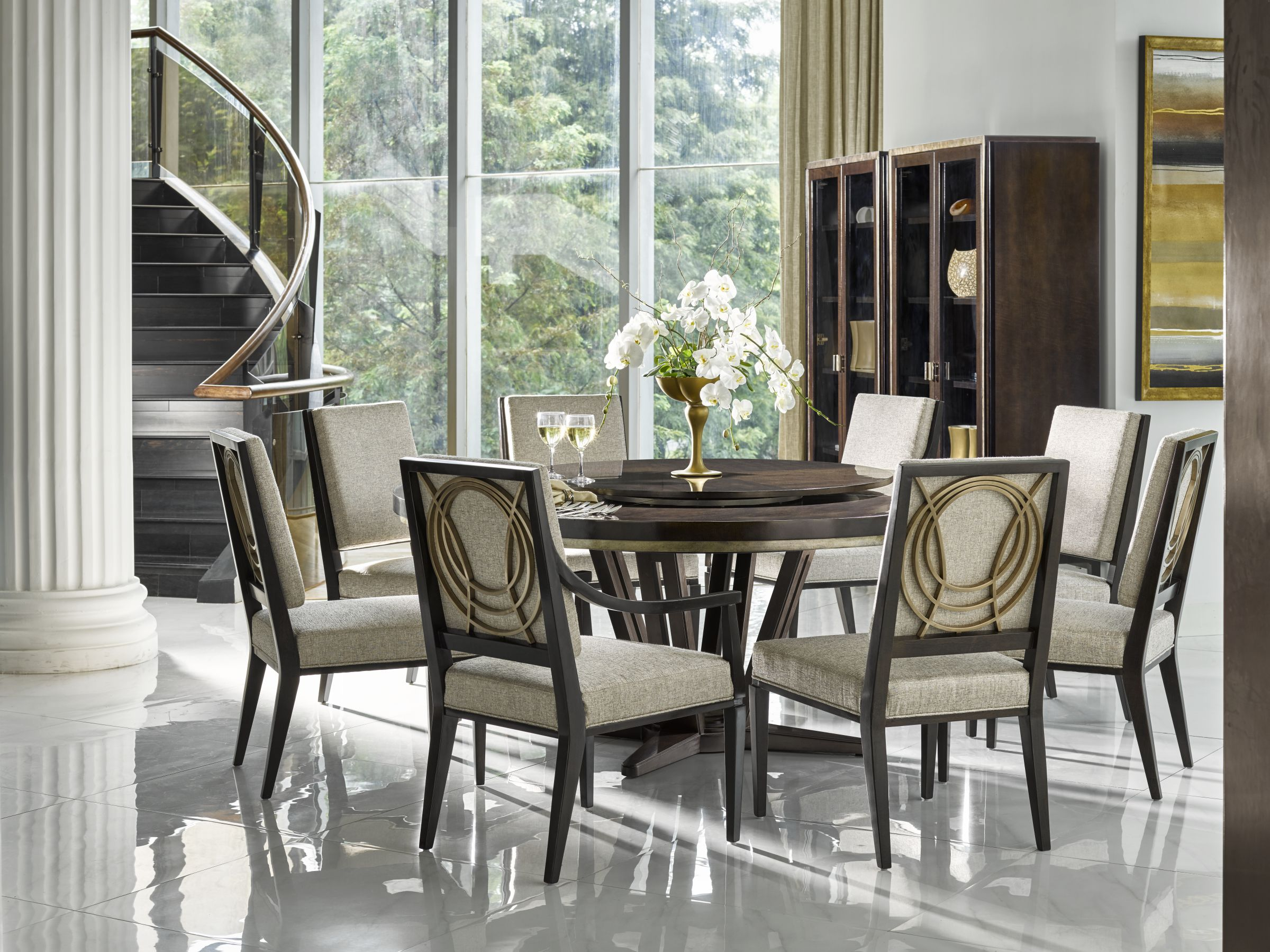 Fine Furniture Design Deco Le Cercle dining room table