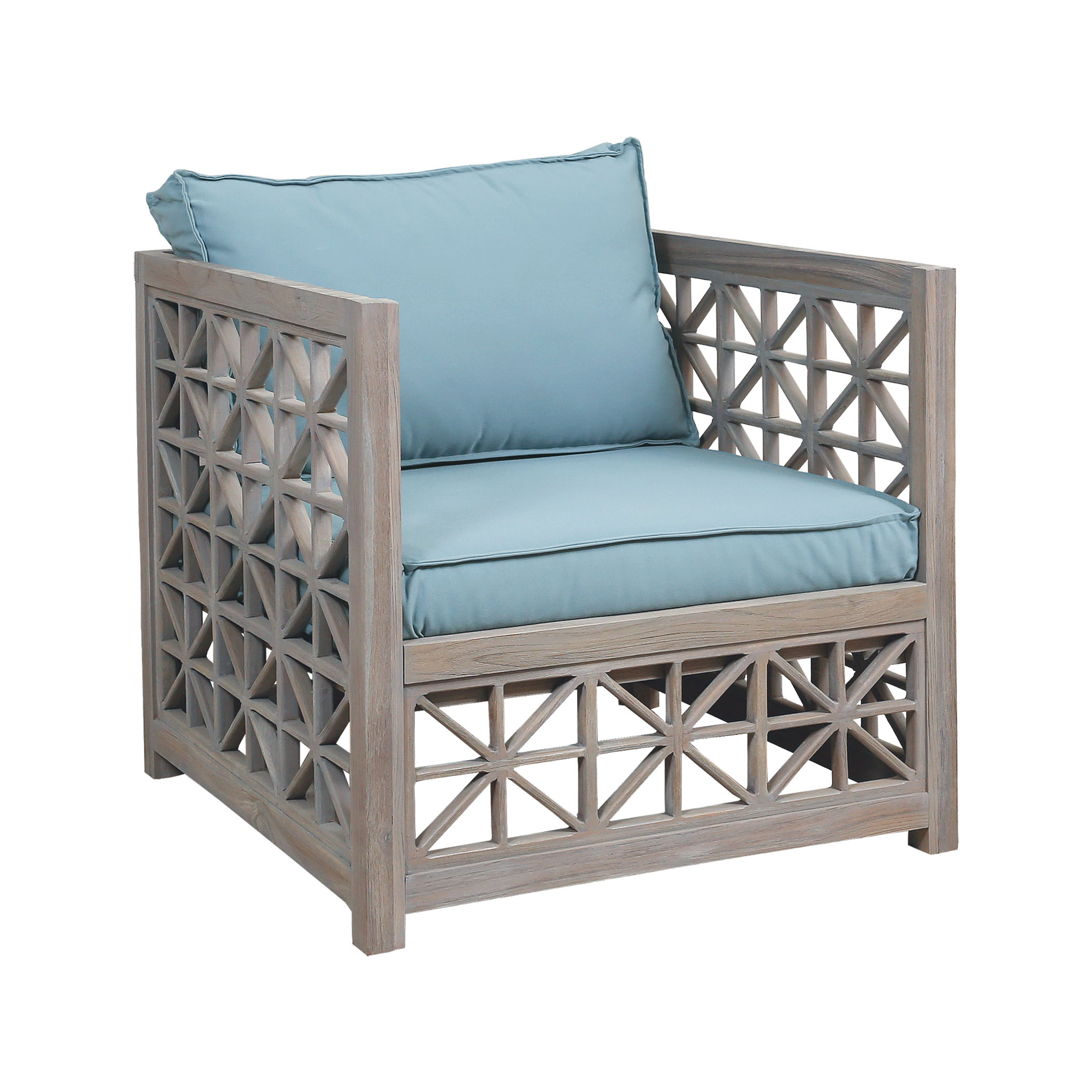 Guildmaster Vincent lattice outdoor chair