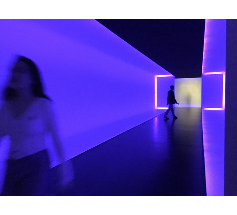 James Turrell, neon lighting, the lighting doctor