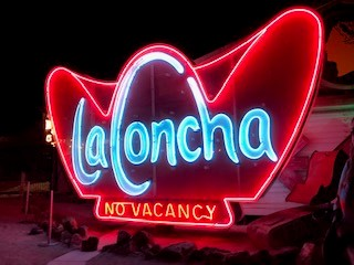 La Concha Hotel Neon Sign, The Lighting Doctor