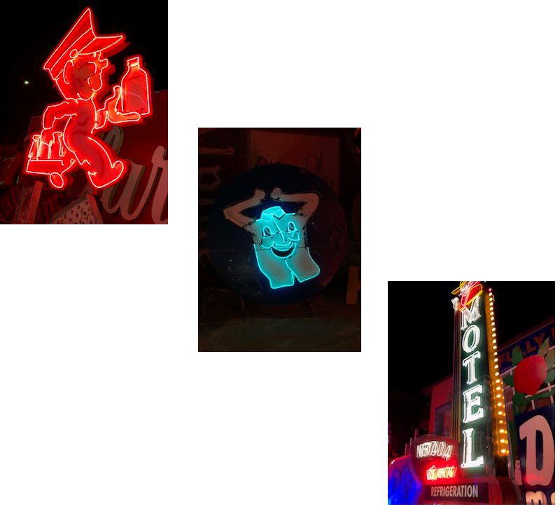 Neon Lighting Museum, Randall Whitehead