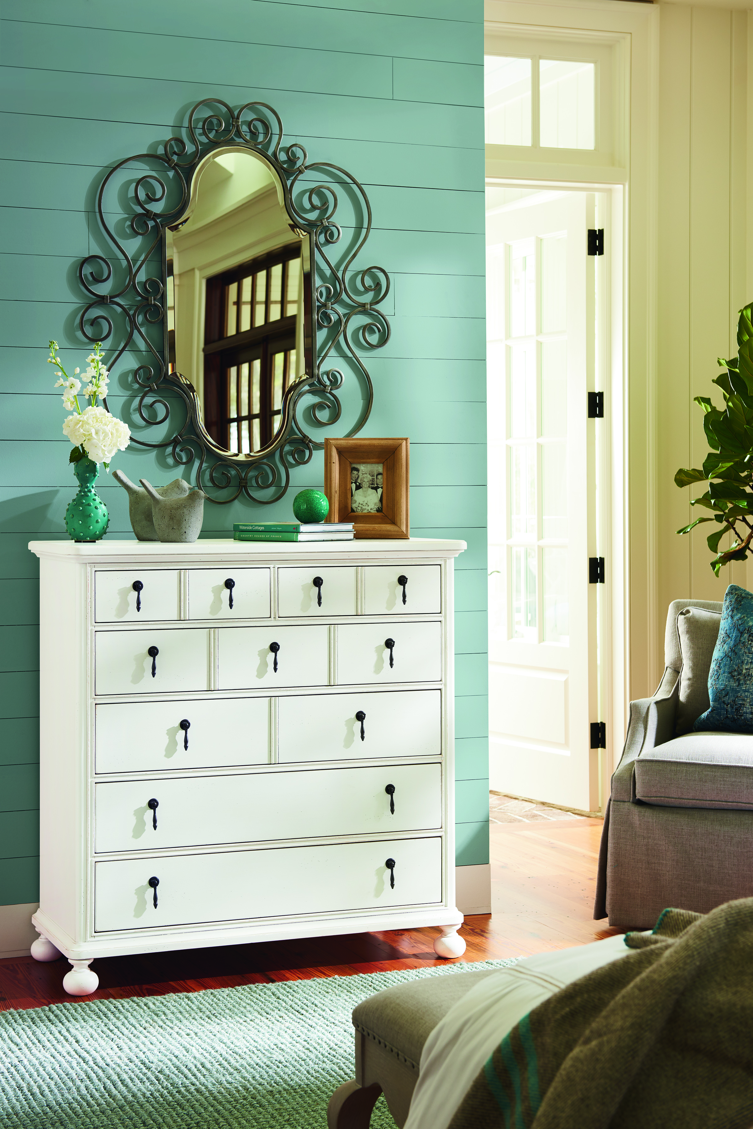 Bungalow chest in an Oleander finish from Paula Deen for Universal Furniture