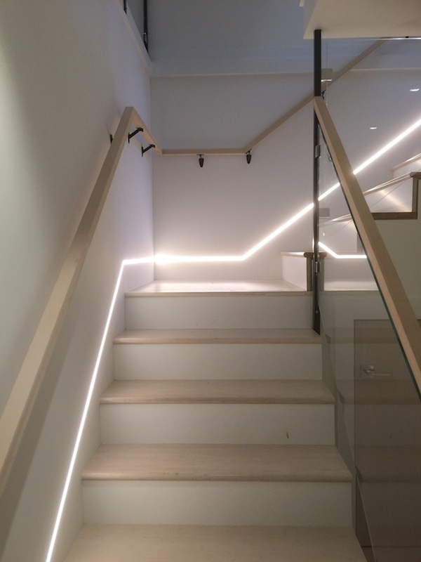 Stepping Up Outdoor Stairwell Lighting