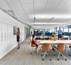 The American Society of Interior Designers created a headquarters that promotes sustainability, health and wellness.