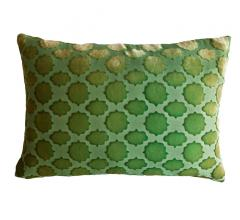 Kevin O'Brien Studio Mod Fretwork Velvet Pillow
