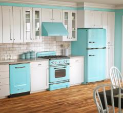 Big Chill appliances come in a wide variety of vintage-inspired colors.