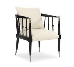 Caracole Black Beauty accent chair