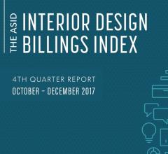 American Society of Interior Designer's logo for the fourth quarter billings index