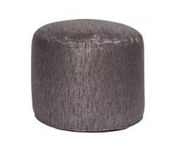 Glam Zinc Tall Pouf from Howard Elliott