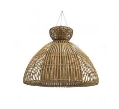 Bahamas pendant with a natural rattan shade from Palecek