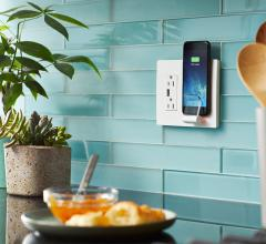 wireless wall charger kitchen
