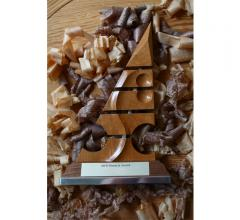 ASFD Pinnacle Awards wooden award