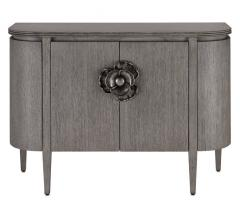 Gray dresser from Currey & Co.