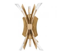 Vida Sconce in Brushed Gold from Fredrick Ramond
