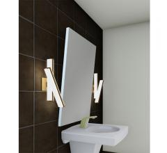 contemporary gold bathroom sconce
