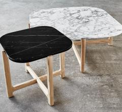 Quarry end and coffee tables from Gus Modern