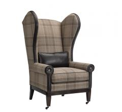 Leathercraft Wolfgang wing chair