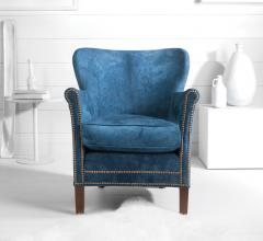 Moore & Giles chair Whistler Denim Blue