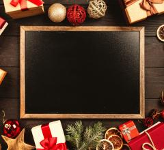 Pexels blackboard holidays presents
