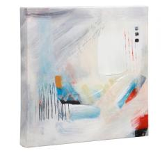 Abstract wall art on canvas by Monica Janes