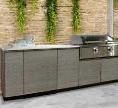 TECNO in Horizon outdoor kitchen from Danvers Stainless Steel Kitchens