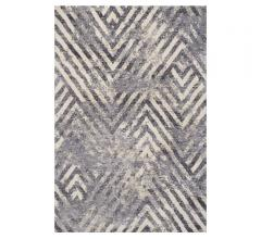 Madison shag Area Rug with geometric arrows from KAS Rugs