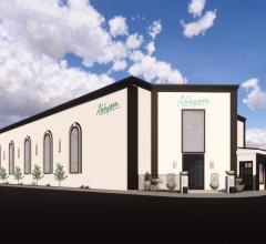 Rendering of Abbyson's new showroom at High Point Market