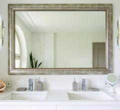 how to position bathroom mirrors with sconces and pendants
