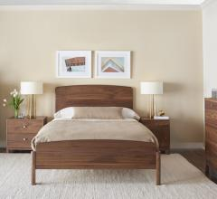 Gat Creek Nicole Bed walnut