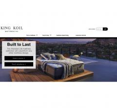 King Koil site