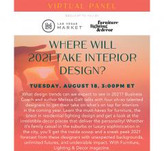 Design Trends 2021 with Las Vegas Market
