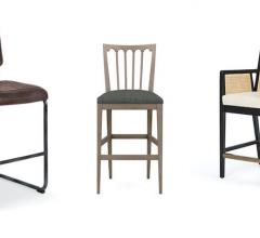 traditional and modern bar stools