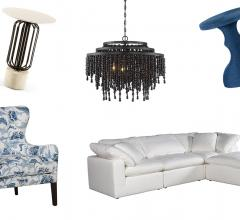 High Point Market Black, White and Blue Trends