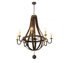 Meyda Lighting Barrel Stave Chandelier