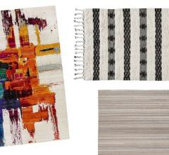 Linear Area Rugs