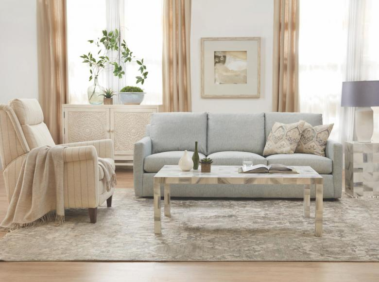 Sam Moore Daxton Sofa and Danae Recliner_Performance