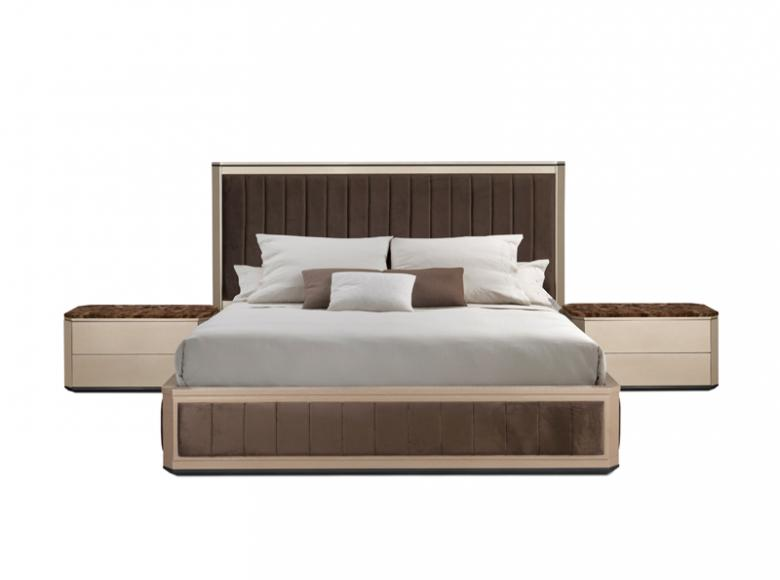 Hurtado Champagne Bed