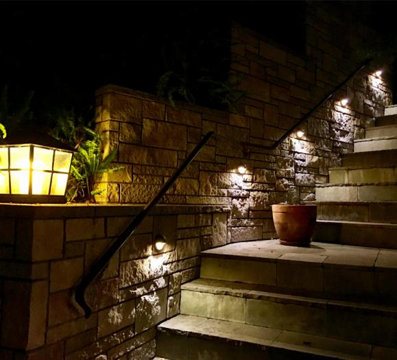 outdoor LED stairwell lights
