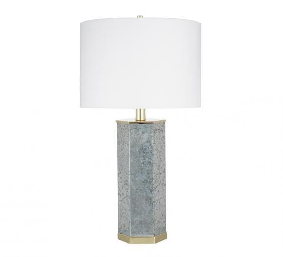 JAlexander Galvanized Metal Table Lamp