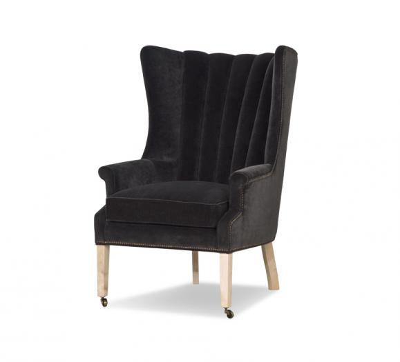 Taylor King Philosopher Wing Chair