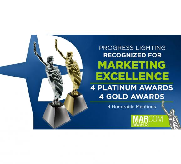 Progress Lighting MarCom awards