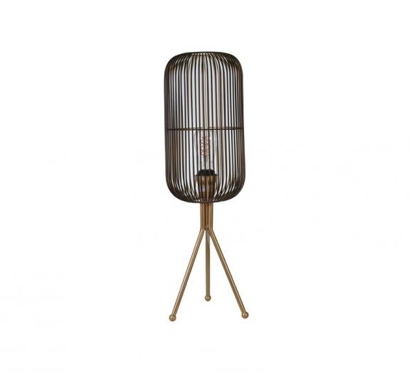 Sagebrook Home Oval Shaped Grid Lamp