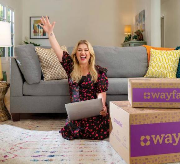 Kelly Clarkson Wayfair
