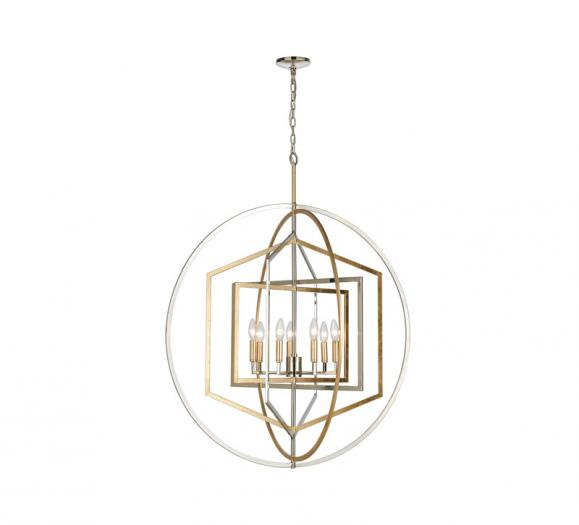 ELK Lighting Geosphere Chandelier